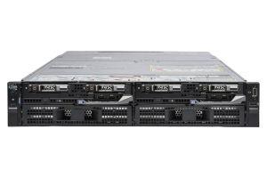 Dell PowerEdge FX2s - 2 x FC630, 2 x E5-2640 v3, 128GB, 2 x 1.2TB SAS 10k, PERC H730P, iDRAC8 Enterprise