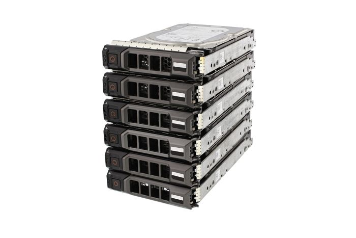 "Dell 10TB SAS 7.2k 3.5"" 12G 4Kn Hard Drives **6 Pack**"