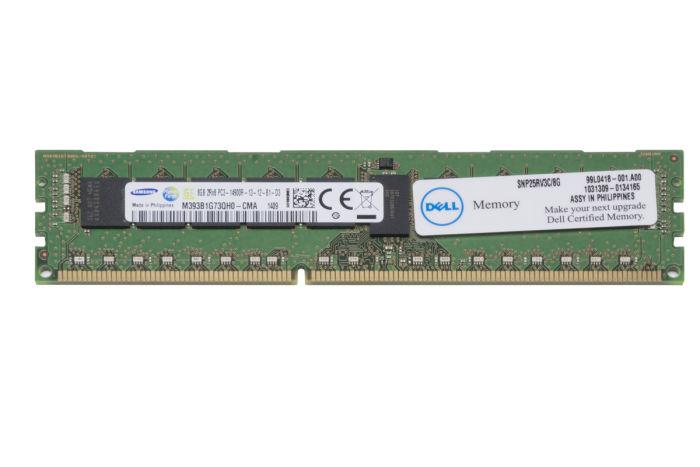 Dell 8GB PC3-14900R 25RV3 Ref