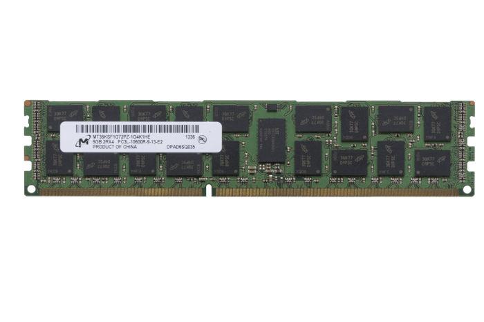 Micron 8GB PC3L-10600R MT36KSF1G72PZ-1G4K1HE Ref