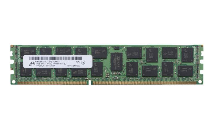 Micron 8GB PC3L-10600R MT36KSF1G72PZ-1G4M1FI Ref