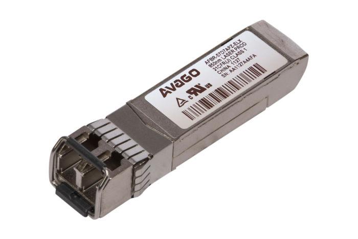 Avago 8G FC SFP+ Short Range Transceiver - AFBR-57D7APZ-ELX