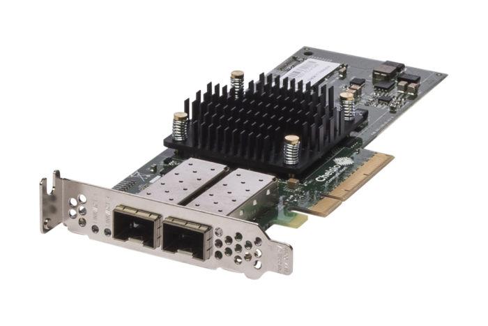 Dell Chelsio T520-CR 10Gb SFP+ Dual Port Low Profile Fibre HBA - HTTG1 - Ref