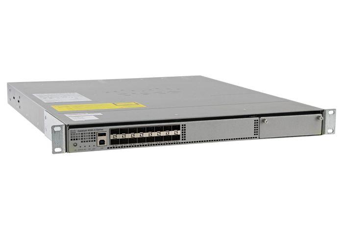 Cisco Catalyst WS-C4500X-16SFP+ Switch IP Base License, Port-Side Air Intake