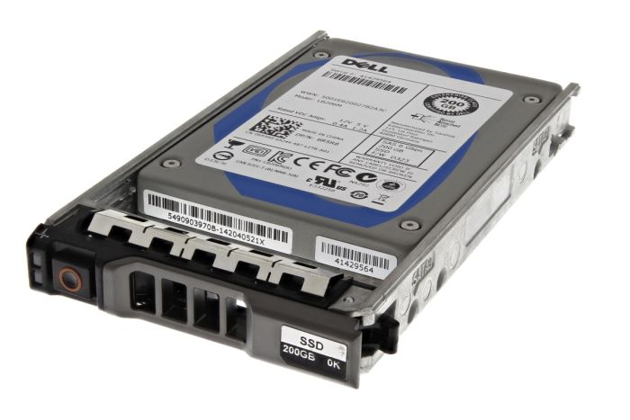 """Dell 200GB SSD SAS 2.5"""" 6G MLC Mixed Use 6R5R8"""