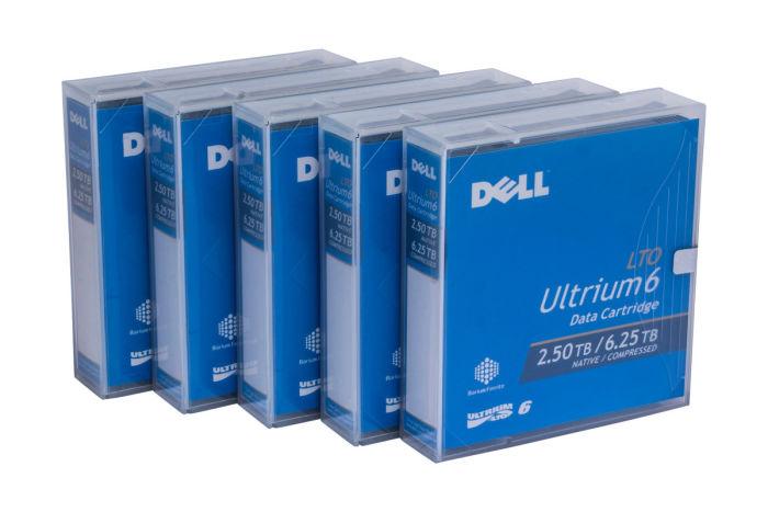 Dell LTO-6 Data Cartridge - 5 Pack