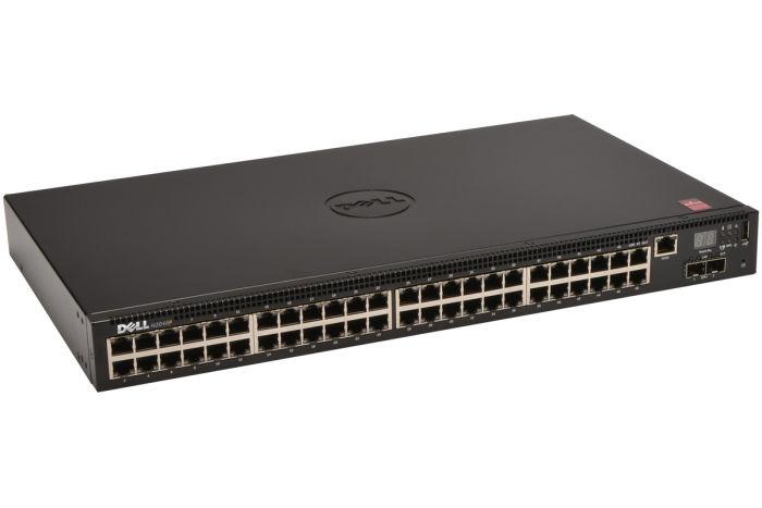 Dell Networking N2048P 48 x 1GbE RJ45 PoE+ + 2 x SFP+ - Ref