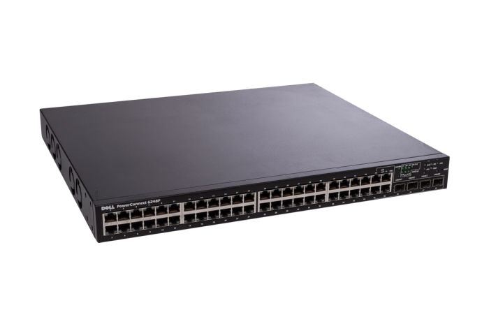 Dell PowerConnect 6248P 48 x 1GbE RJ45 PoE + 4 x SFP combo Switch - Grade B