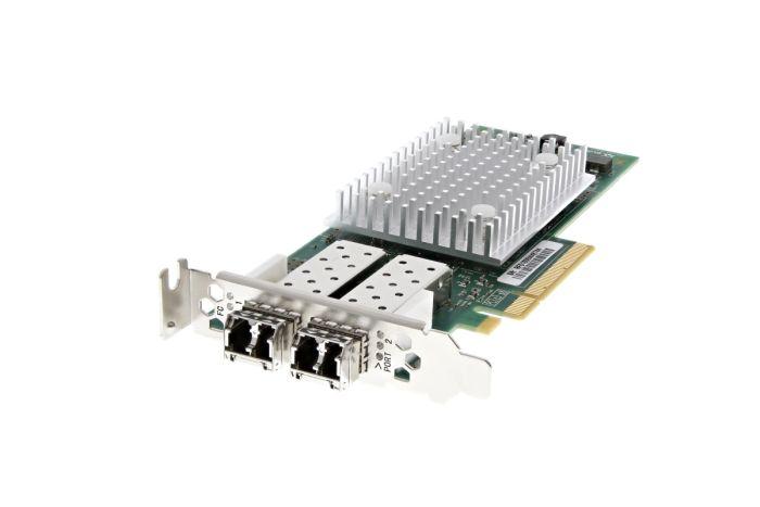 Dell QLogic QLE2692L-DEL 16Gb Dual Port Low Profile Fibre HBA - WVT0T - Ref