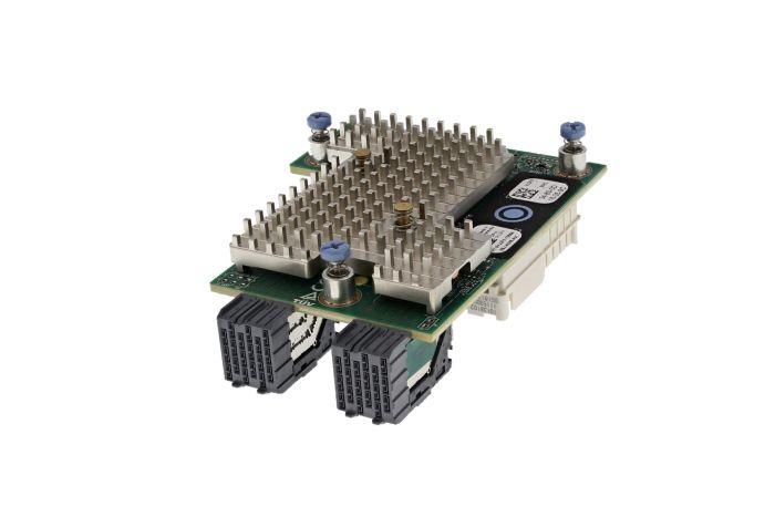 Dell QLogic QL41232 25/10Gb SFP28 Dual Port Mezzanine Card - HJ3FX - Ref