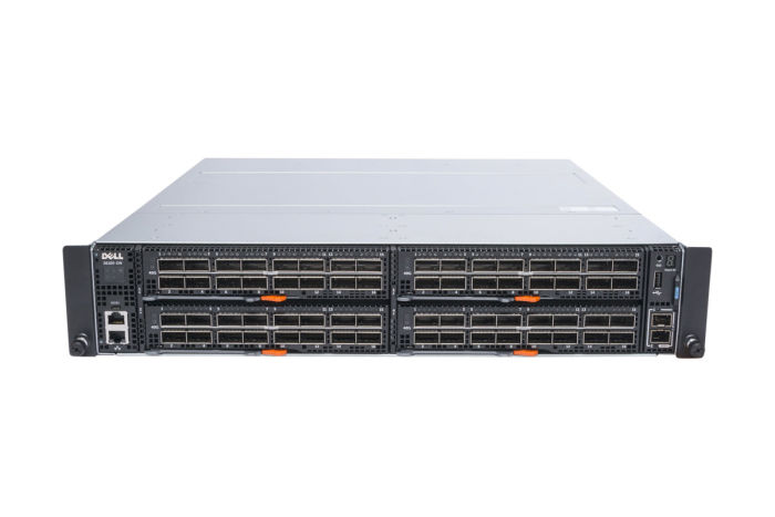 Dell Networking S6100-ON RA Chassis w/ 4x 40GbE QSFP+ Modules w/ 2 x PSU - Ref
