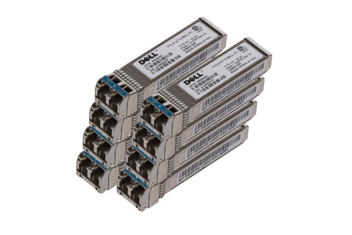 Dell Intel 10Gb SFP+ FC Long Range Transceiver - RN84N - *8 Pack* - New