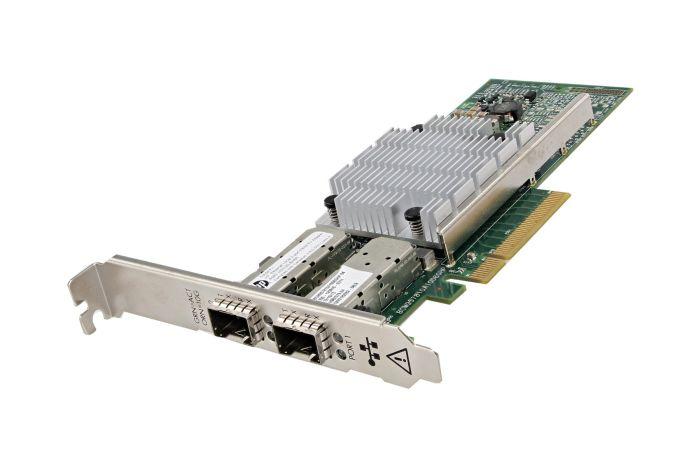 HP 530SFP+ 10Gb Dual Port Full Height Network Card - 656244-001 - Ref