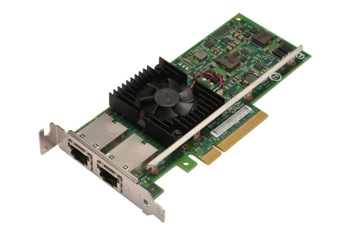 Dell Intel X540-T2 10Gb Dual Port Low Profile Network Card - 3DFV8 - Ref