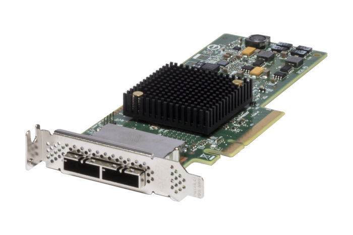 Dell LSI SAS 9207-8e 6Gbps Low Profile HBA 0CWWY
