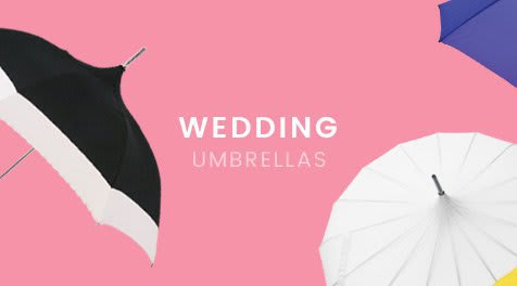 Shop Wedding Umbrellas at Jollybrolly
