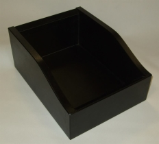 Aterinlaatikko musta 200x275x75/120 mm