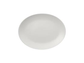 Lautanen soikea valkoinen 36 cm