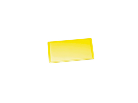 Leikkuulauta keltainen muovi 65x53x2 cm
