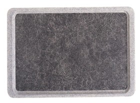 Tarjotin titan graniitti kitkapinta 46x34,4 cm