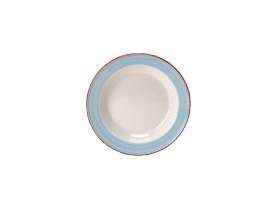 Lautanen syvä sininen Ø 21,5 cm