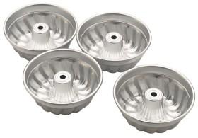 Kakkuvuoka mini alumiini Ø 10,5 cm 4 kpl/pkt