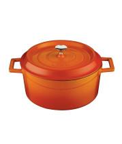 Valurautapata oranssi Ø 28 cm 6,71 L
