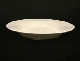 Yleislautanen valkoinen polykarbonaatti Ø 23,5 cm