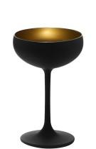 Cocktail-lasi mattamusta/kulta 23 cl
