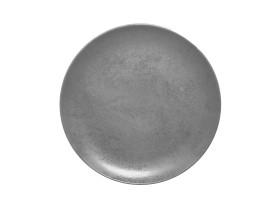 Lautanen reunaton harmaa Ø 31 cm