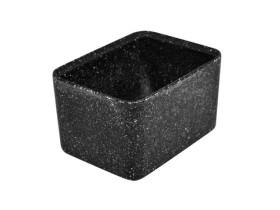 Kulho melamiini musta 13x17,5x10 cm 1,5 L