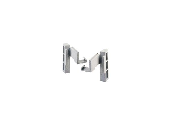 Camshelving kulmaliitinpari vasen/oikea
