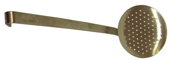 Reikäkauha rst P 50,5 cm Ø 14 cm