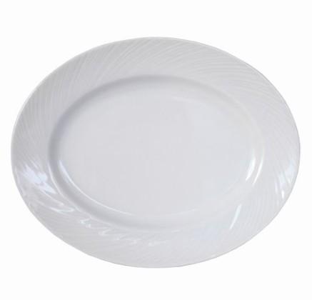 Lautanen soikea P 28 cm