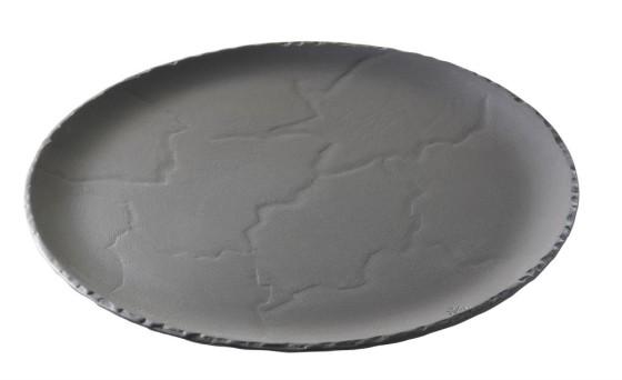 Lautanen musta Ø 32 cm