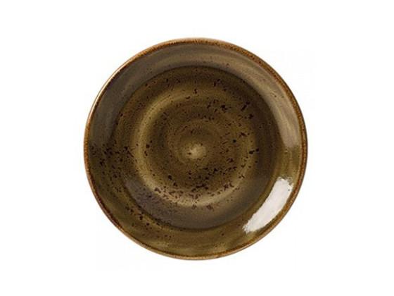 Lautanen ruskea Ø 25,25 cm
