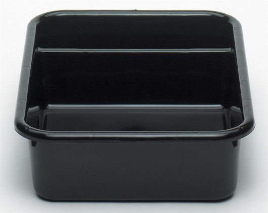 Säilytyslaatikko 2-os. musta 39,7x52x12,4 cm