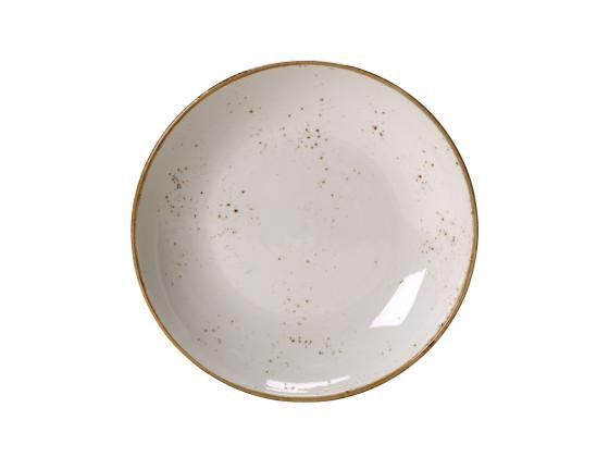 Lautanen syvä valkoinen Ø 25,5 cm