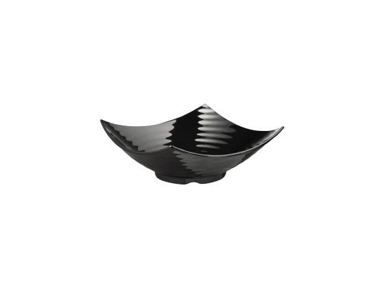 Kulho melamiini musta 40x40x13,5 cm