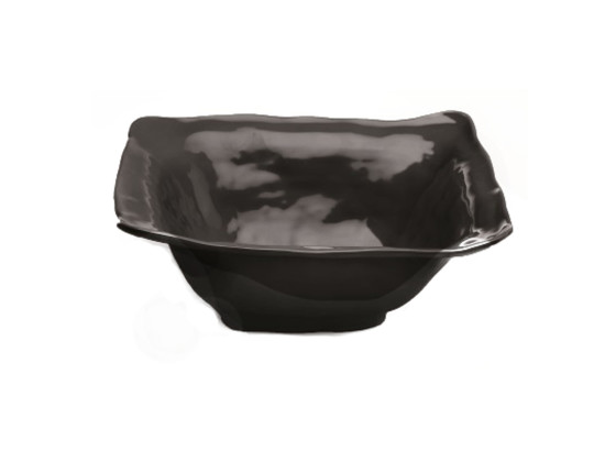 Neliökulho melamiini musta 33x33 cm 378 cl