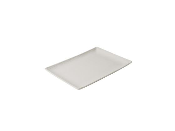 Lautanen suorakaide valkoinen 32x23 cm