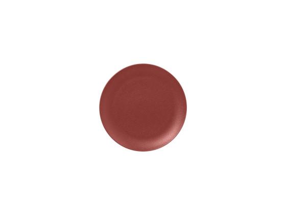 Lautanen tummanpunainen Ø 18 cm