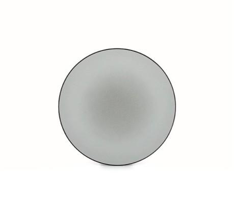 Lautanen harmaa Ø 21,5 cm