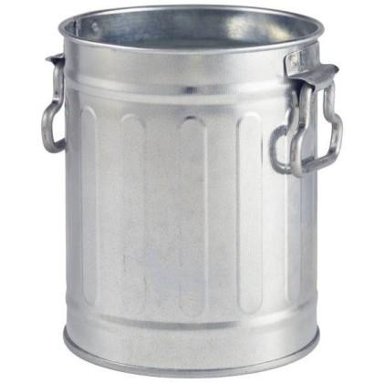 Roska-astia mini galvanoitu Ø 8,5 cm