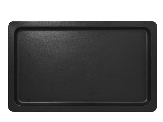 GN-vati 1/1 musta 53x32,5x2 cm