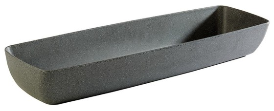 Kulho pinottava melamiini musta GN 2/4 3,65 L