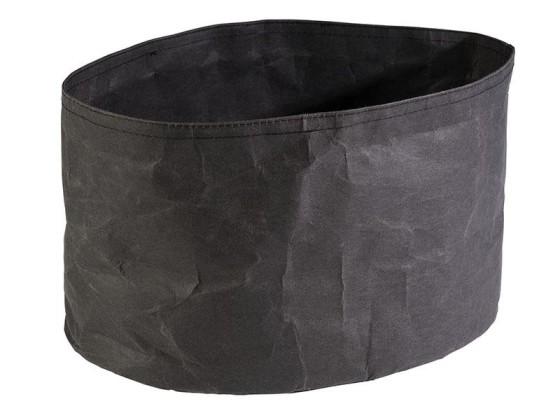 Leipäpussi musta 30x20 cm
