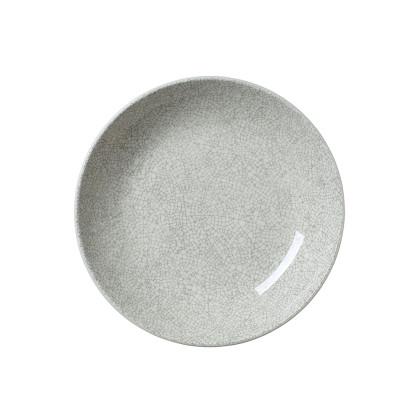 Lautanen syvä harmaa Ø 21,6 cm