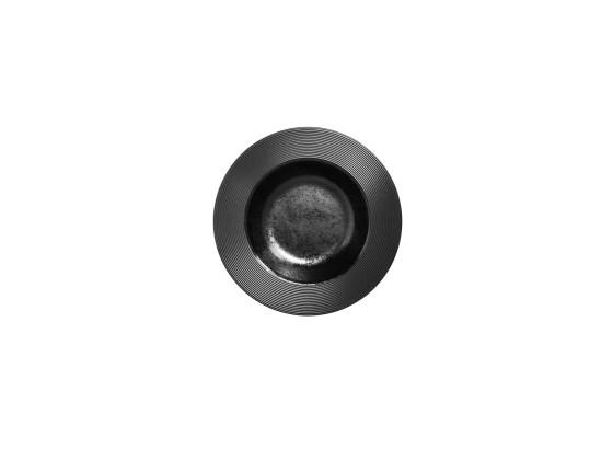 Lautanen syvä musta Ø 23 cm