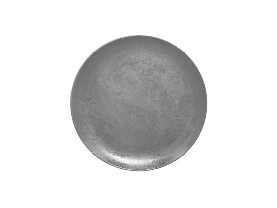 Lautanen reunaton harmaa Ø 27 cm